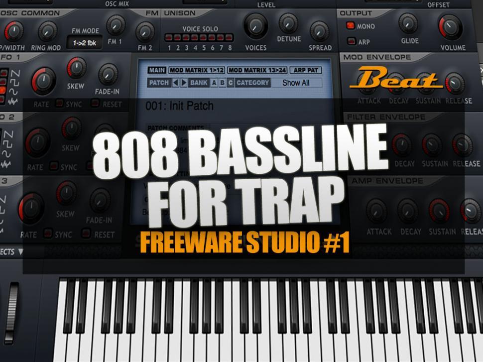 Video-Tutorial für Trap 808 Bassline