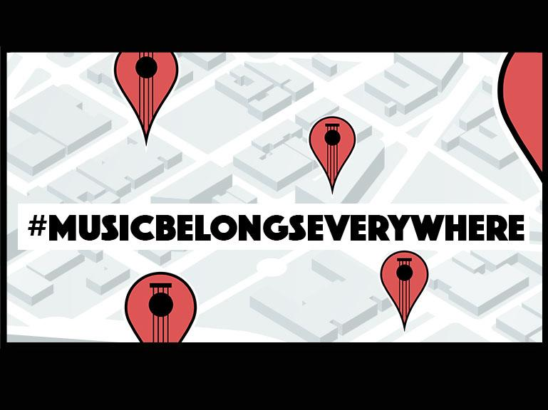 #MusicBelongsEverywhere – Contest