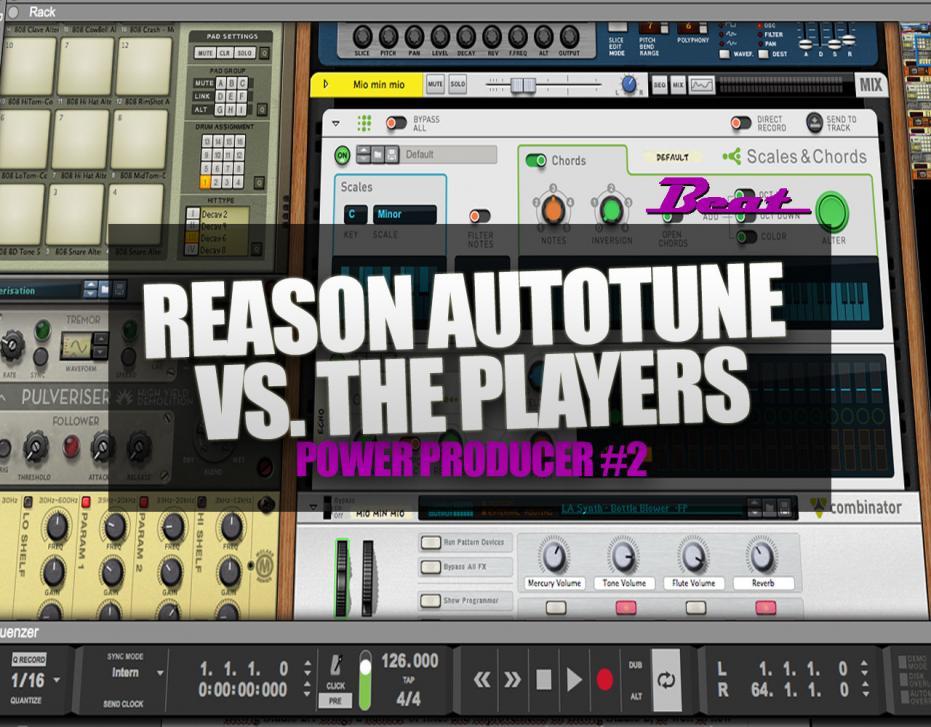 Video-Tutorial: Reason Autotune vs. The Players