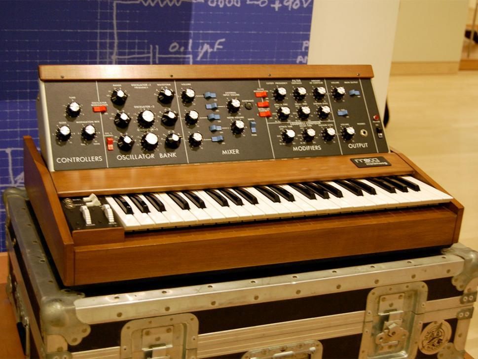 Der Klassiker: Minimoog Model D von Bob Moog