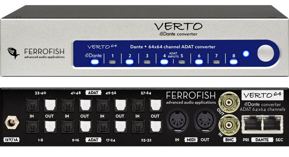 Ferrofish Verto 64