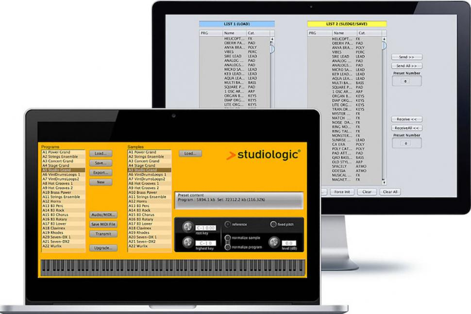 Studiologic Spectre Software für den Sledge 2.0 Synthesizer