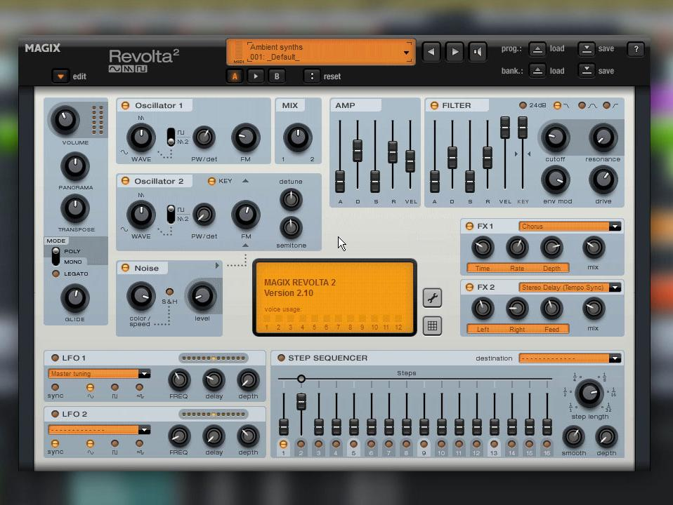 MAGIX Revolta 2 Synthesizer