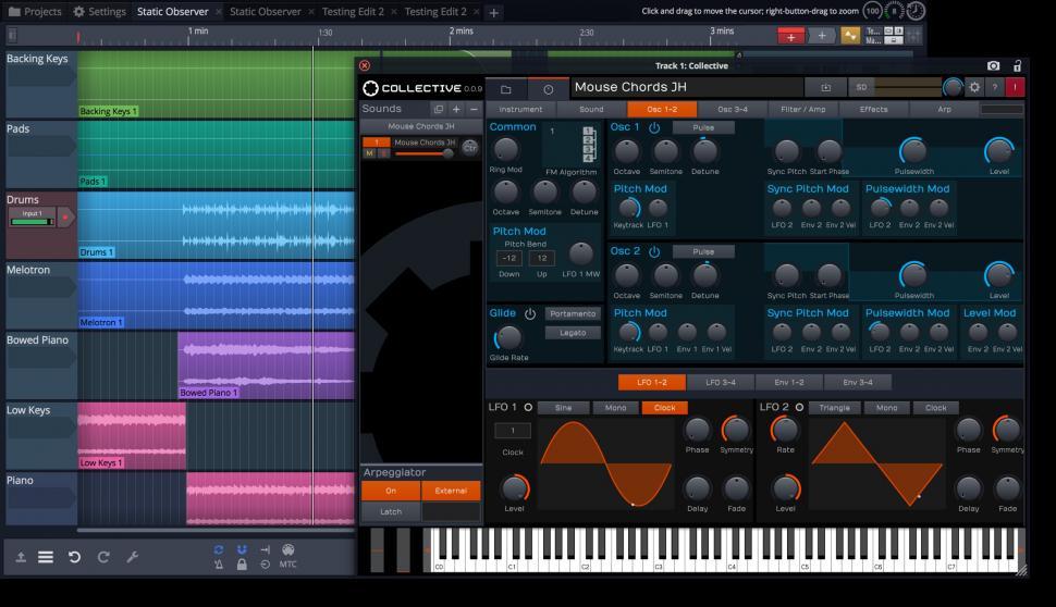 Tracktion Waveform Collection Synthesizer/Sampler