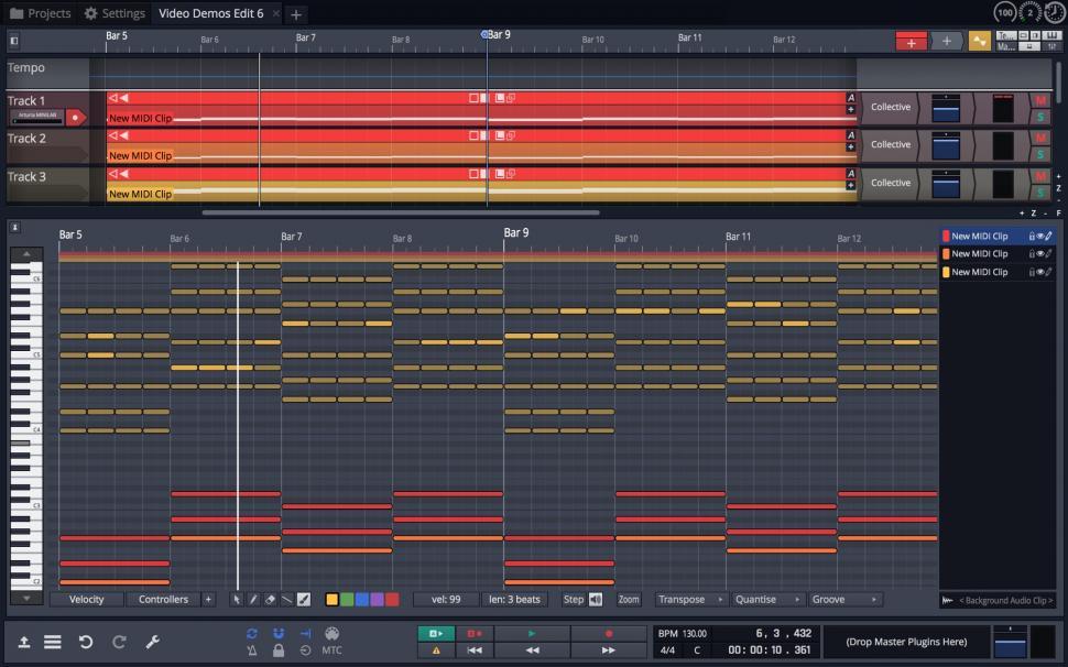 Tracktion Waveform Composition Tools