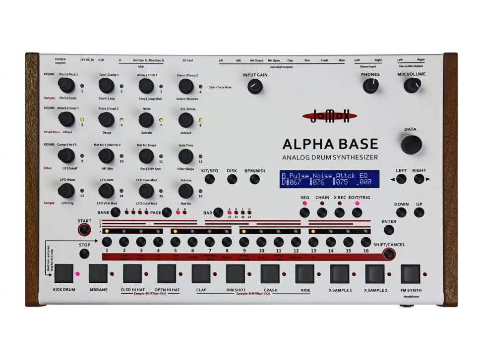 Drummachine Jomox Alpha Base