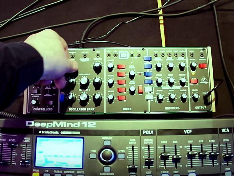Hands on Behringer D-Synth