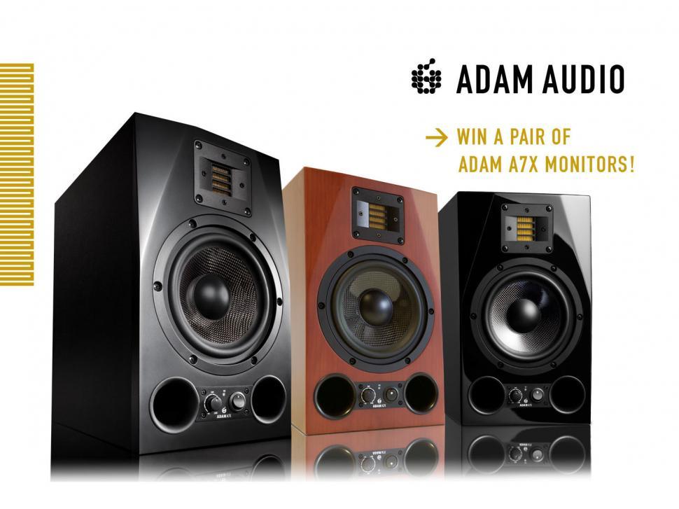 ADAM A7X: Foto-Wettbewerb zum 7jährigen