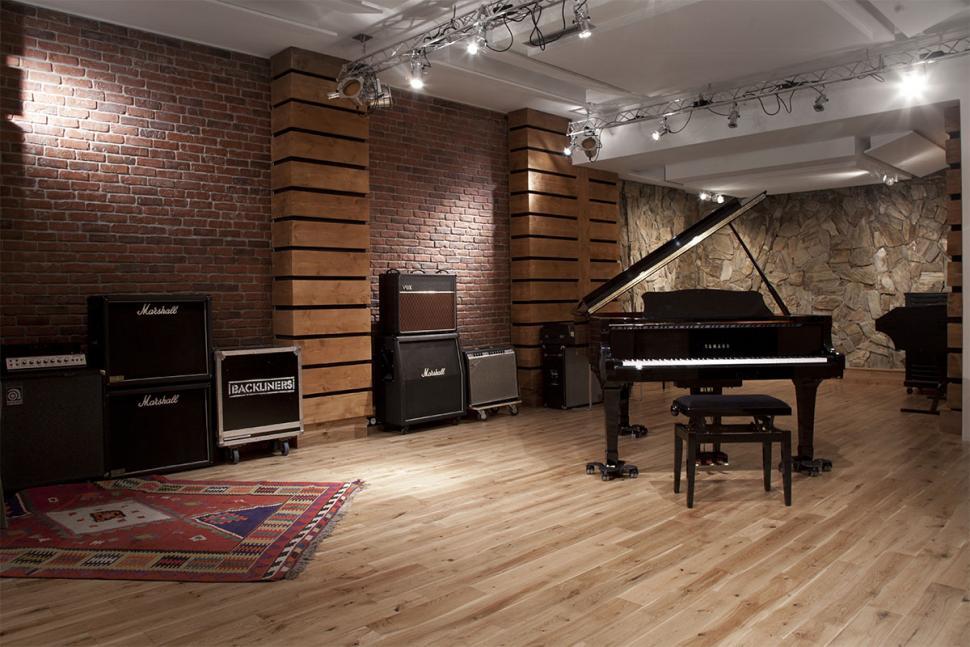 Im Aufnahmeraum des Studios waren schon Künstler wie Kanye West zu Gast.