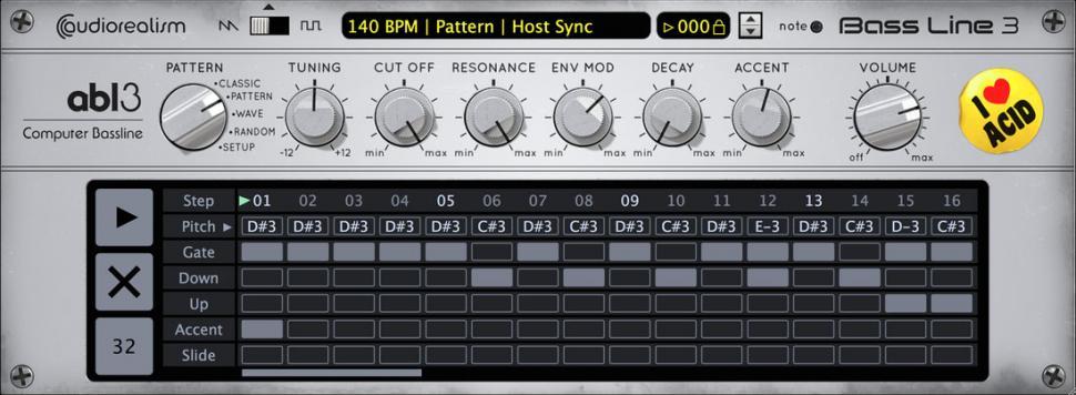 AudioRealism ABL 3 Pattern-Ansicht