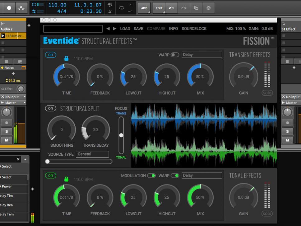 Die einfache Benutzeroberfläche täuscht über die gewaltigen Möglichkeiten hinweg, denn Eventide Fission ist eine echte Revolution in der Audiobearbeitung.