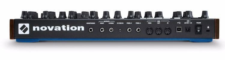 Stereo-Out, Kopfhörer-Anschluss, CV-Mod-Input, zwei Pedal-Eingänge, MIDI-Trio und MIDI über USB … alles dran, oder?