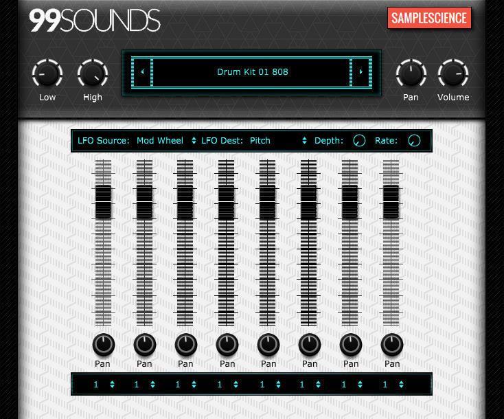 99 Sounds Drum Machine