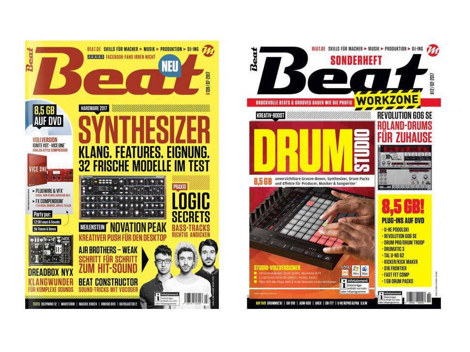 Beat Magazin 07/17 und Beat Workzone 2/17