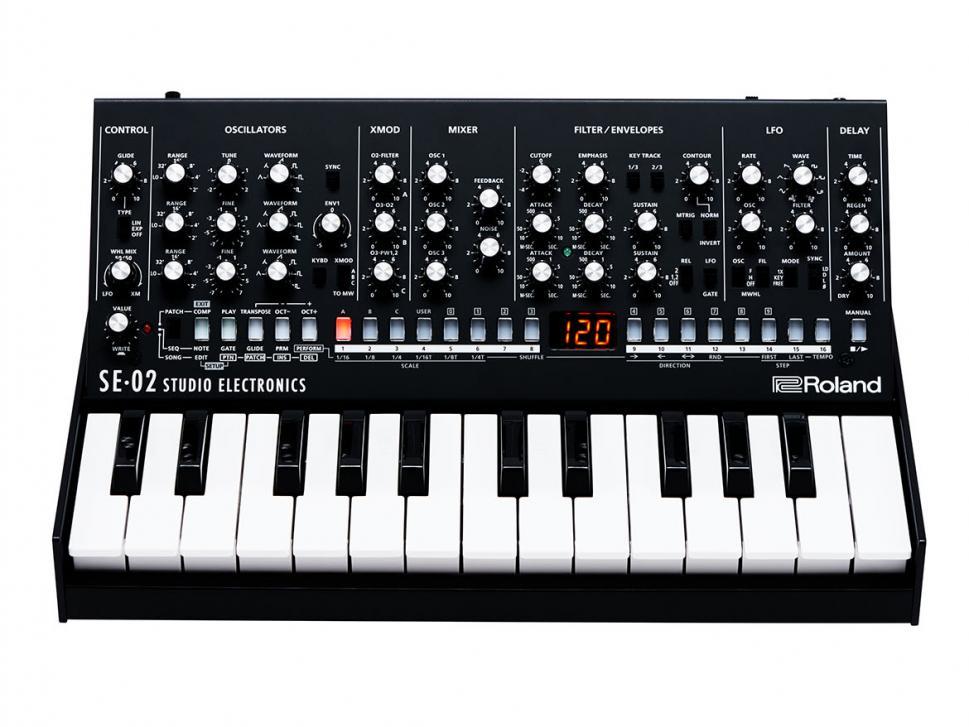 Das neue Prunkstück in der Boutique-Serie: Roland SE-02