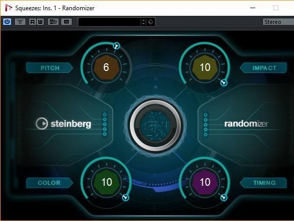 Steinberg Nuendo 8: Randomizer