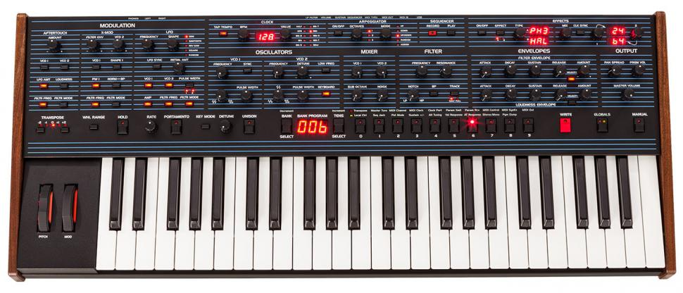 Typisch Oberheim: Der OB-6 ist ein Weichei und für harte Sounds eher ungeeignet. Genau deswegen ist dieser Synthesizer aber ein heißer Tipp!