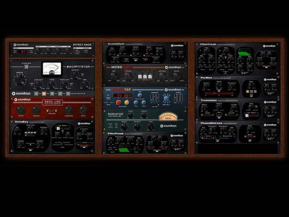 Ein Traum für jeden Sounddesigner: Die Soundtoys-Effekte bieten hochklassigen, teils überaus variablen Sound bei geringen Leistungsansprüchen.