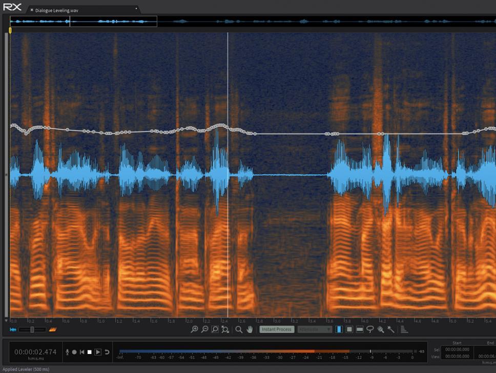 iZotope RX Advanced: Das Schweizer Taschenmesser für die gezielte Audio-Restauration und -Bearbeitung.