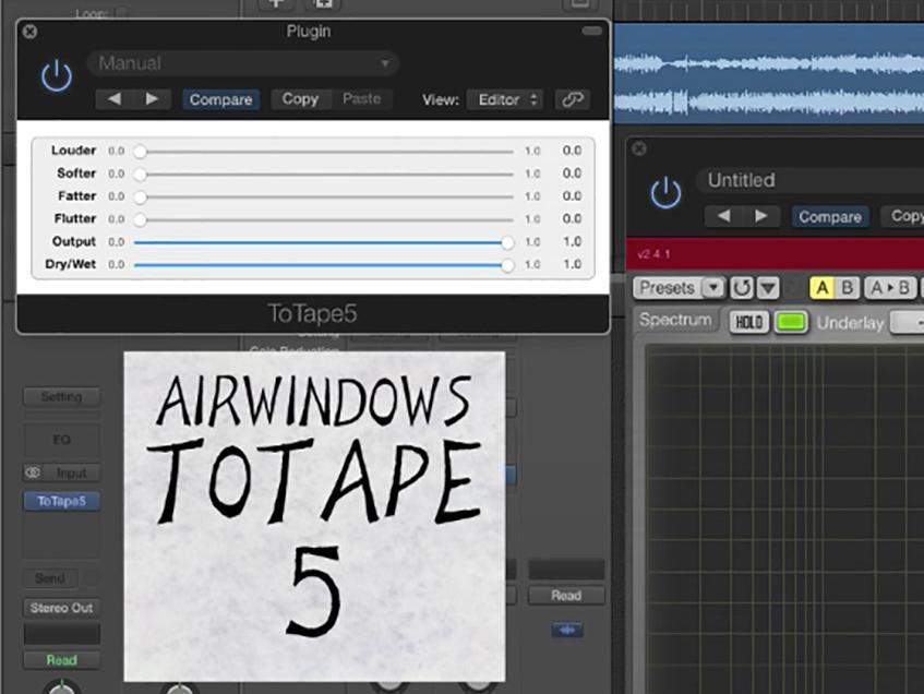 Airwindows ToTape5: Emulation analoger Bandsättigung