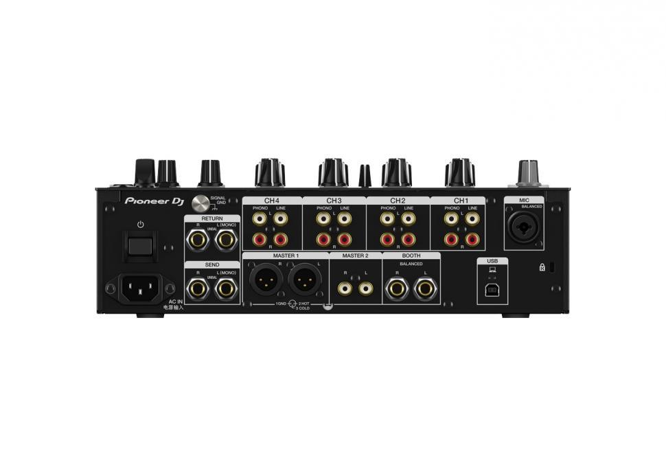 Pioneer DJ DJM-750MK2 Rückansicht