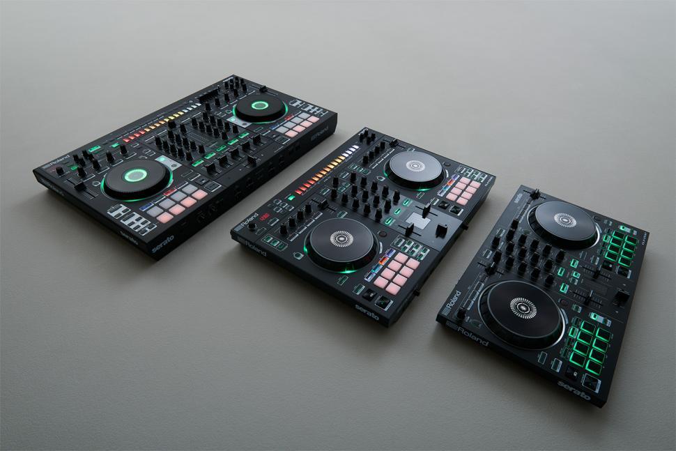 Roland DJ-Controller DJ-202, DJ-505 und DJ-808