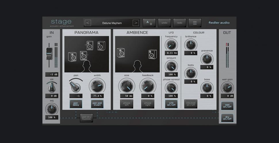 fiedler audio Stage