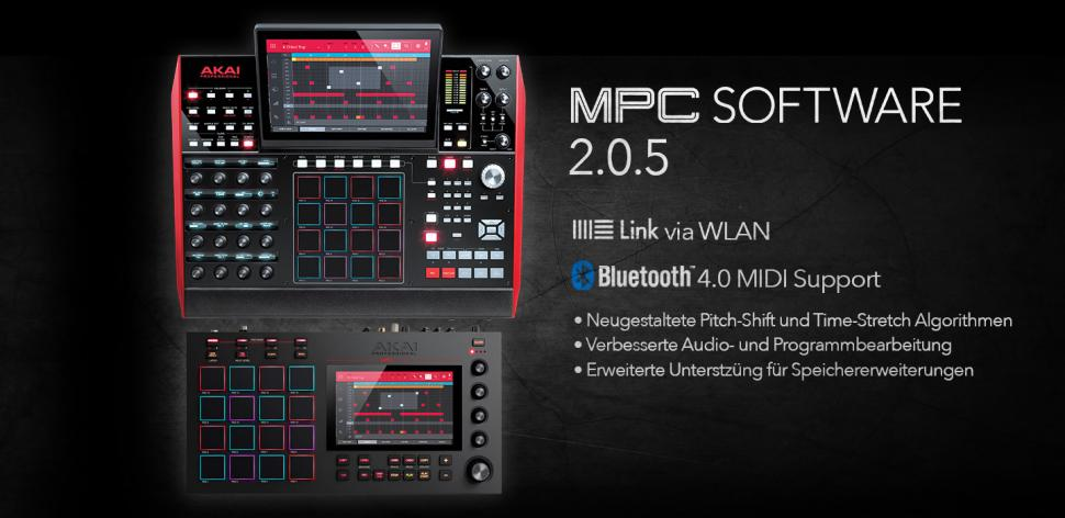 Akai MPC Firmware Update 2.0.5