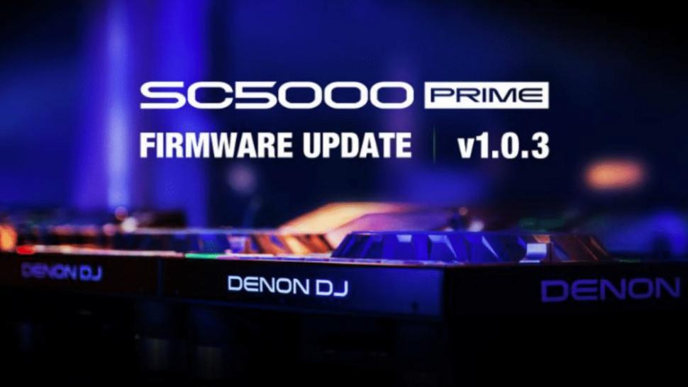 Denon DJ SC5000 Firmware Update