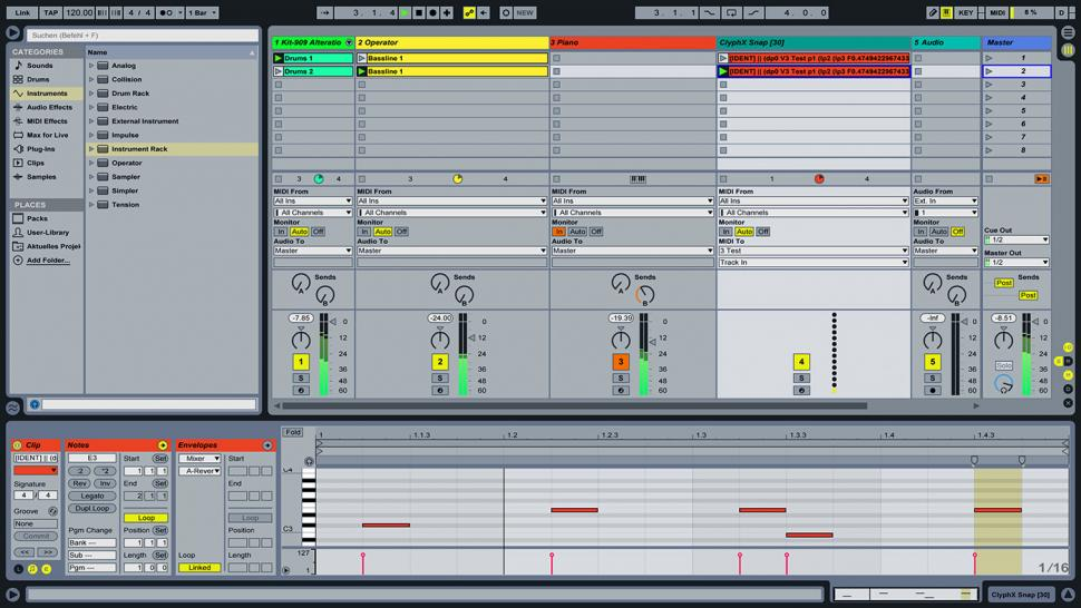 how to create a beat in ableton live 6