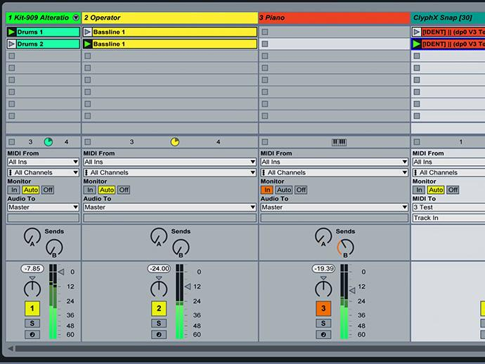 Ableton Live Tutorial: Parameter-Snapshots & Action-Clips