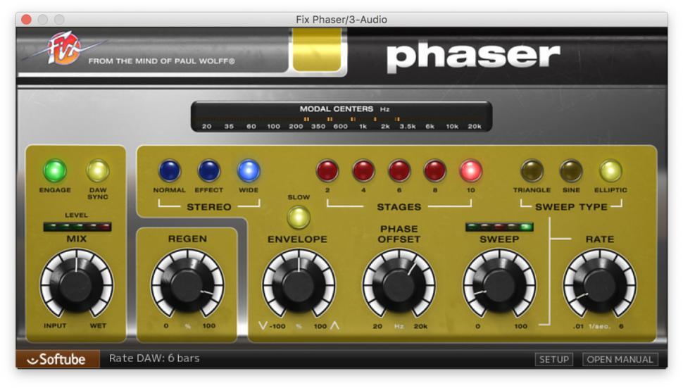 Softube Fix Phaser