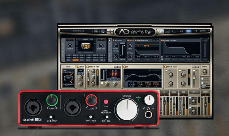 XLN Audio & Focusrite Hard- und Software-Bundle