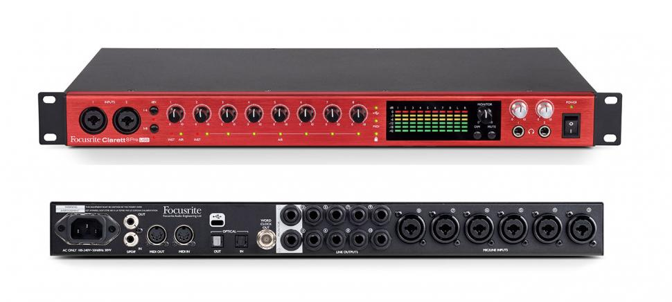 Focusrite Clarett USB Audio-Interfaces