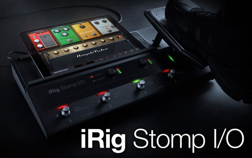 IK Multimedia iRig Stomp I/O