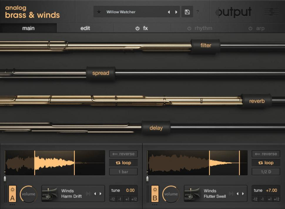 Output: Analog Brass & Winds