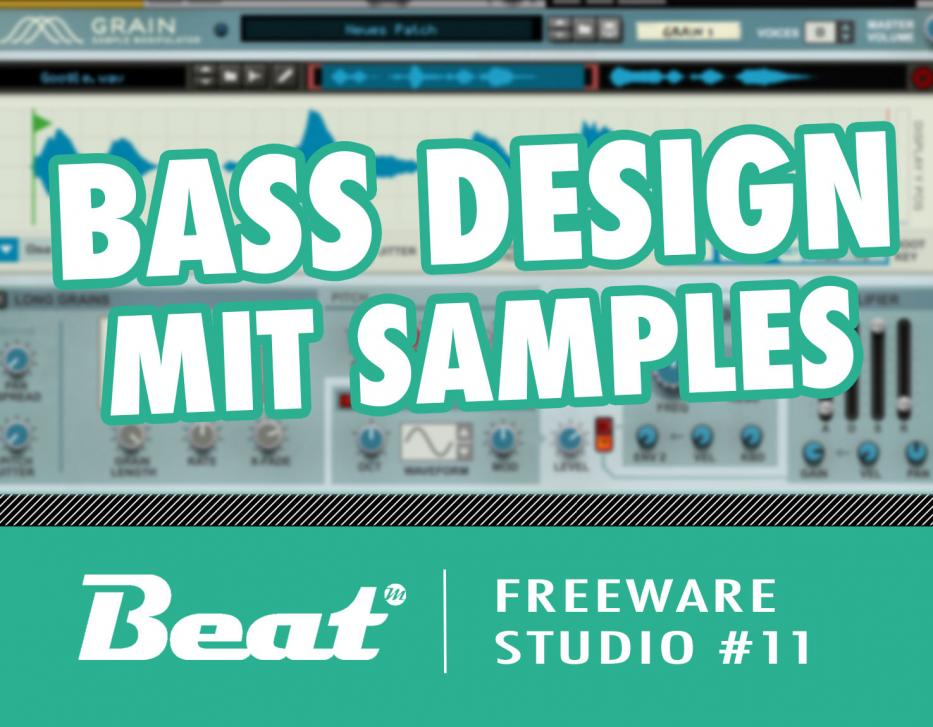 Tutorial: Bass Design mit Samples