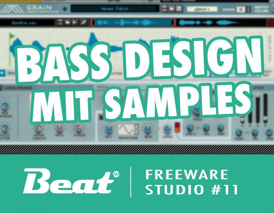 Tutorial: Bass Design mit Samples