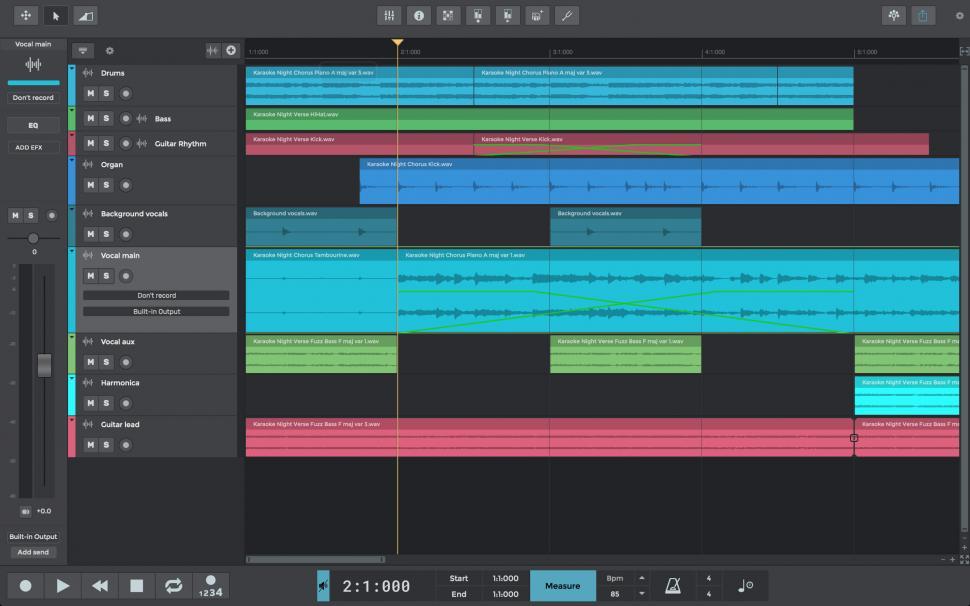 n-Track Studio 9 mit VocalTune