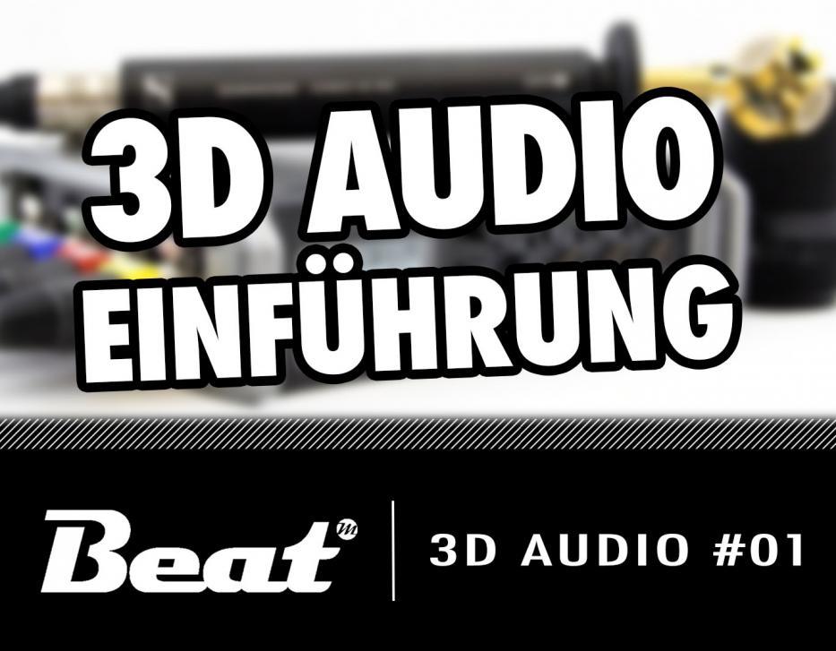 Video-Tutorial: Einführung in 3D-Audioaufnahmen für 360 Grad Videos