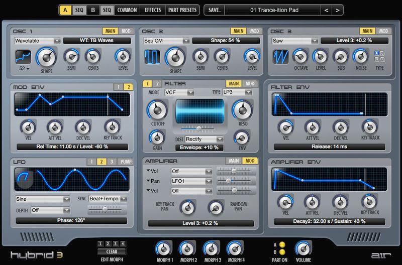 Air Music Tech Hybrid 3