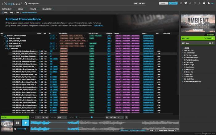 Loopmasters Loopcloud 2.0