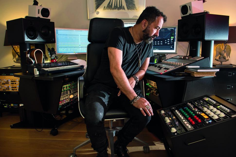 Dave Clarke in seinem Studio