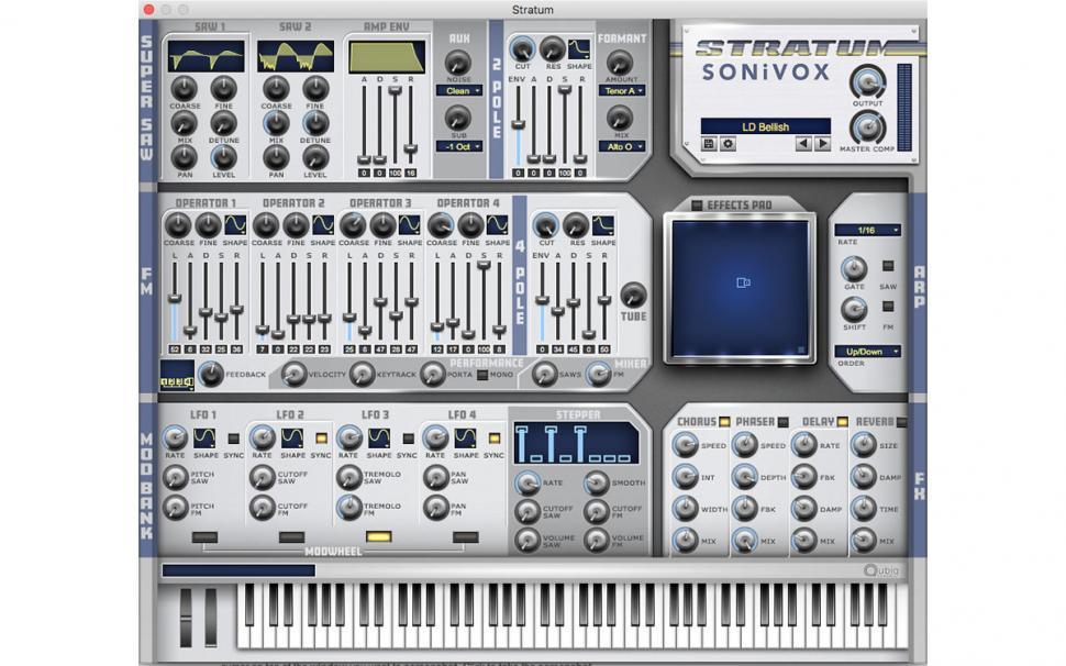 Interessant: Sonivox Stratum kombiniert SuperSAW- und FM-Synth   Beat