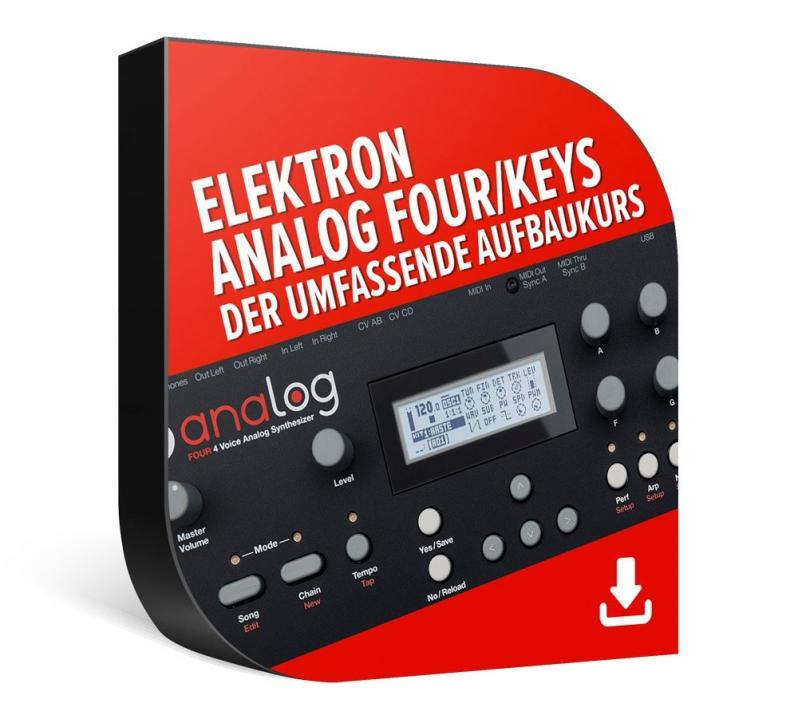 Elektron Analog Four/Keys – der umfassende Aufbaukurs