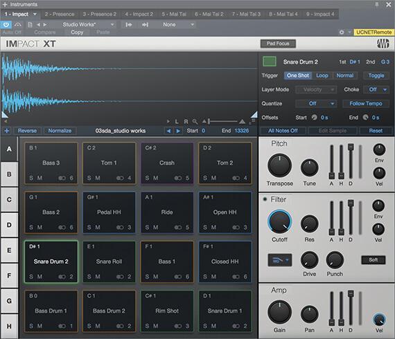Impact XT heißt das aufgefrischte Drum-Modul für die Kreation von Beats.