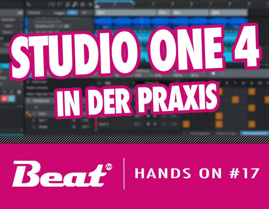 Video-Tutorial: Presonus Studio One 4 - Praxischeck der neuen Features