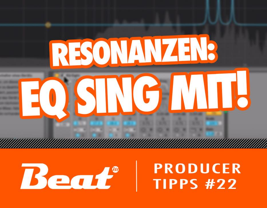 Video-Tutorial: Der EQ sing mit - Arbeiten mit Resonanzen