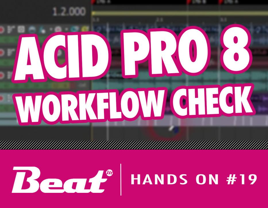 Video-Tutorial: DAW Acid Pro 8 - Workflow im Check