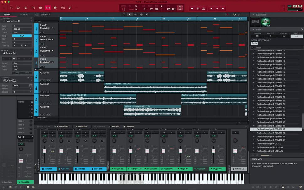 Akai MPC 2.2 Software